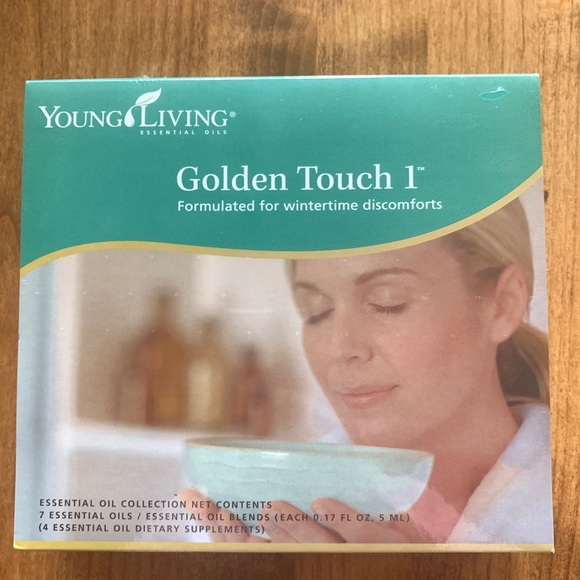 Young Living Golden Touch Oil Collection